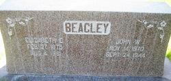 Elizabeth E <I>Pierce</I> Beagley