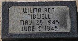 Wilma Bea Tidwell