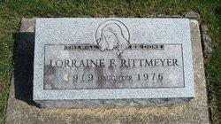 Lorraine F Rittmeyer