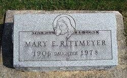Mary E Rittmeyer