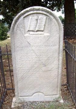 Rev Henry Hill Durant