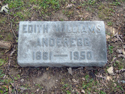 Edith <I>Williams</I> Anderegg