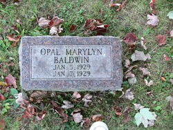 Opal Marylyn Baldwin