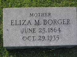 Eliza Morton <I>Wheeler</I> Borger