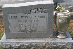 Ethel Myrtice <I>Hutches</I> Alston