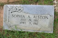 Sophia A. Alston