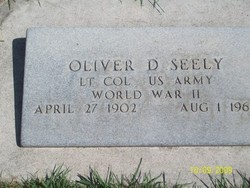 Oliver Dwight Seely