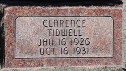 Clarence Alonzo Tidwell
