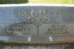 "Myrtle C. ""Peggy"" <I>Parkinson</I> Bergman"