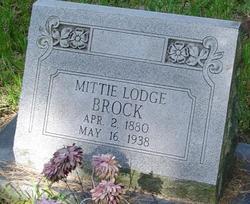 MIttie <I>Lodge</I> Brock