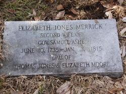 Elizabeth <I>Jones</I> Ashe