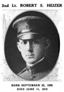 2nd Lt Robert Stauffer Heizer