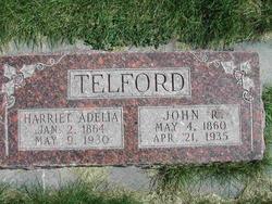 Harriet Adelia <I>Lowder</I> Telford