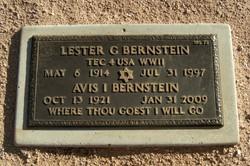 Lester G Bernstein