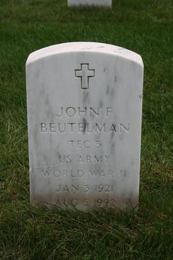 John F Beutelman