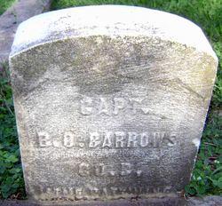 Capt Benjamin O. Barrows