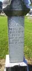Paul C Balliet
