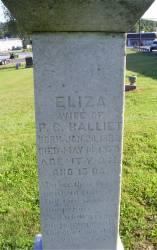 Eliza <I>Houseknecht</I> Balliet