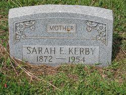 Sarah E Kerby