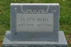 Lu Etta <I>Brim</I> Bickle