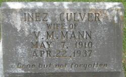 Inez <I>Culver</I> Mann