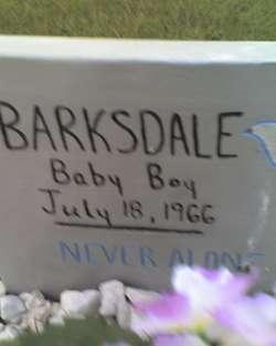 Infant Barksdale