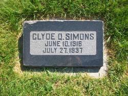 Clyde D Simons