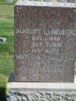 Matilda <I>Johansen</I> Lundberg