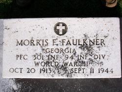 PFC Morris Franklin Faulkner