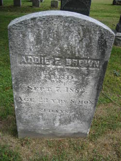 "Adelaide F ""Addie"" Brown"