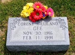 Mary Corene <I>Gilliland</I> Gee