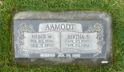 Bertha Jeanette <I>Spencer</I> Aamodt