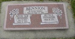 """Alvin """"A.B."""" Bennion"""