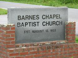 Barnes Chapel Baptist Church Cemetery