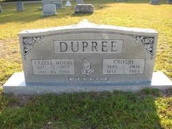 Exzell <I>Wood</I> Dupree
