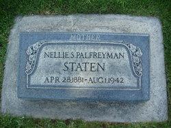 Nellie Selena <I>Palfreyman</I> Staten