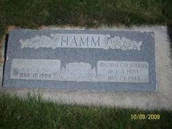 Madge Kathleen <I>Poulson</I> Hamm