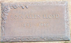 Rose L <I>Allen</I> Lloyd