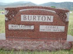 Mary Elizabeth <I>Ransom</I> Burton