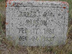 Agnes Elizabeth <I>Austin</I> Ransom
