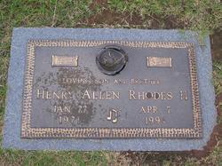 Henry Allen Rhodes, II