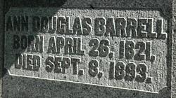 Ann <I>Douglas</I> Barrell
