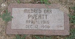 Mildred Orr <I>Phillips</I> Pyeatt