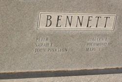 Micajah Y Bennett