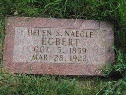Helen Susan <I>Naegle</I> Egbert