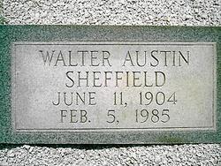 """Walter Austin """"Birdshot"""" Sheffield"""
