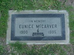 Eunice <I>Johnson</I> McCarver