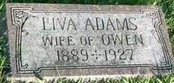 Liva <I>Custer</I> Adams