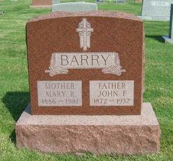Mary R <I>Mullen</I> Barry