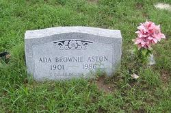 Ada Brownie Aston